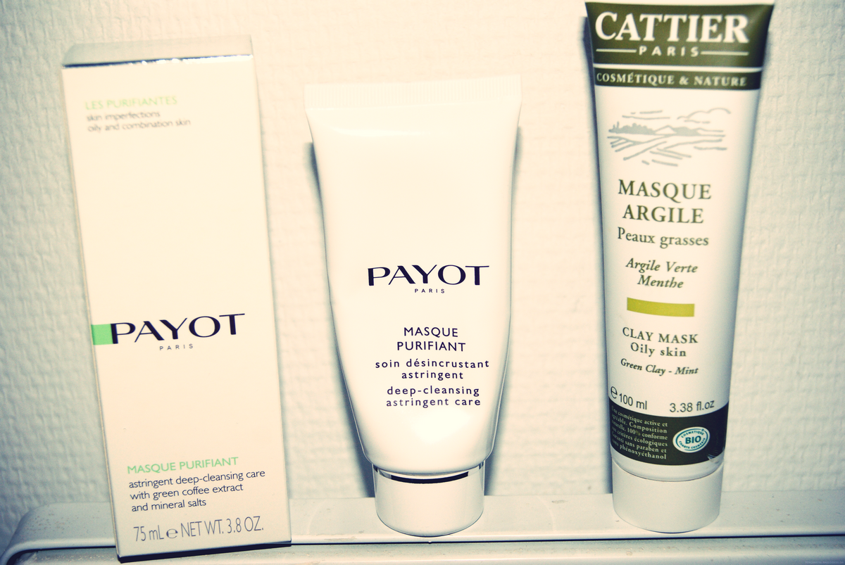 masque purifiant payot